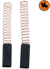 NEW Carbon Brushes BLACK & DECKER HV7VE screwdriver - 6x6x15mm