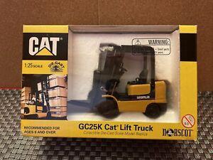 1.25 CAT CATERPILLAR GC25K  CAT FORKLIFT LIFT TRUCK   #55056  OLD  SHOP STOCK