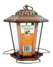 Audubon Carriage Lantern Feeder 1.5 Lb Capacity Copper