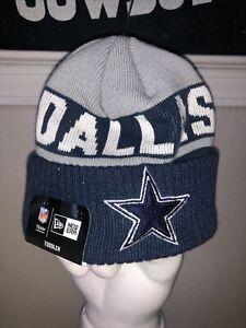 NWT Dallas Cowboys TODDLER NFL New Era Cap Sport Knit Blue Gray Star Beanie Hat