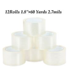 1218 Rolls Carton Sealing Clear Packing Tape Box Shipping Multi Size Us