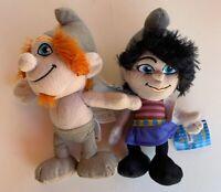 "KellyToy The Smurfs The Naughties Vexy Boy Girl 10"" Plush Lovey Stuffed Animal"