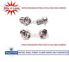 Apple Macbook Pro A1278 A1286 A1297 A1342 Hard disk Drive screw set 4 HDD Screws