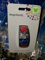 Disney Epcot Test Track Mickey Goofy Donald Red Magic Band 2.0 Magicband Parks