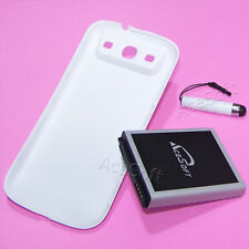 7570mAh Extra Extended Battery+Back Cover+Stylus For Samsung Galaxy S3 III i9300