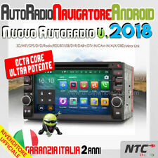 """AUTORADIO 7"""" ANDROID 6.0 OctaCore FORD C-MAX dal 2010 WiFi GPS USB AUX DAB+ CD"""