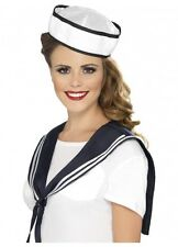 Sailor instant Kit hat and scarf costume set kit nautical sea Navy by Smiffys