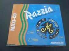 M CD-Maxi: Razzia (New Mixes) -  Trance, Acid 1993