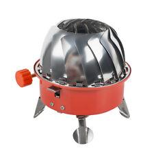 Windproof stove Portable burner Butane Propane gas cooker Wild Survival Safe Use