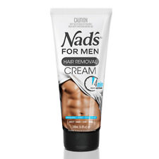 NAD'S FOR MEN HAIR REMOVAL CREAM 200ML PAINLESS 4 MIN FAST ACTION LEGS CHEST