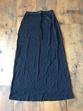 Central Park West Women's Skirt-Size M-Stretchy-Drawstring-Full Length-Nylon-USA