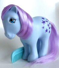 my little pony g1** ITALY VARIANT DARK PURPLE  STARS BLUE BELLE **PRETTY