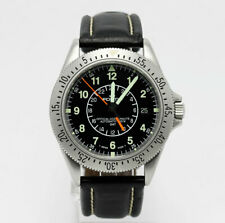 Fortis Cosmonauts diver GMT pilot watch # 611.22.148 stainless steel date 39 MM!