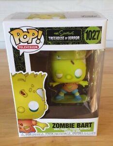 Pop! Vinyl--Simpsons ~ Bart Zombie Pop Vinyl 😁