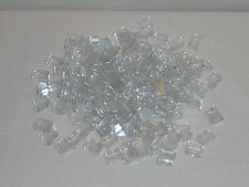 NEW LEGO Translucent Clear Bricks 1X2 Bulk Lot of 100 Pieces 3065