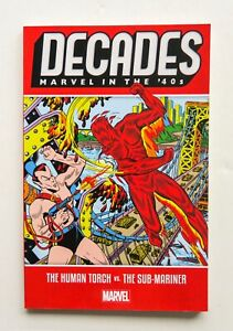 Decades Marvel In The '40s Human Torch Vs. Sub-Mariner Graphic Novel Comic Book