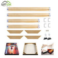 Professional Canvas Stretcher Bars Frames Wooden Stirps Kit for Oil Painting Art