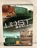 Lost Worlds (4-DVD Set, 2006) History Channel Documentaries Region 1 OOP