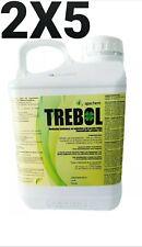 Désherbant Glyphosat TREBOL (TRÉFLE) 2x5 L sel d'isopropylamine 36%p/v 360 g/l