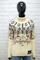 Maglione Donna Just Cavalli Taglia M Pullover Sweater Woman Felpa Lana Maglia