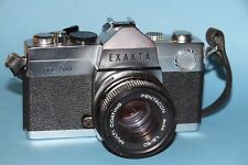 Exakta TL 500 35 mm Single Lens Reflex Film Fotocamera + Obiettivo Pentacon 50 mm F1.8