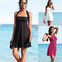 AU STOCK BEACHWEAR WEDDING PARTY SUMMER DRESS PADDED SWIMDRESS COVER UP SW036