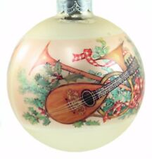Glass Hallmark Robert Louis Stevenson Ball Christmas Ornament Holiday Decoration