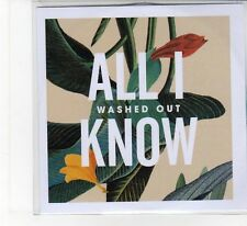 (FB242) Washed Out, All I Know - 2013 DJ CD