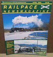 RailPace Magazine - April 2003