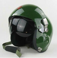CHINESE AIR FORCE JET PILOT FLIGHT HELMET colour  green