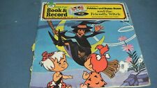 Peter Pan record book Pebbles and Bamm Bamm and the friendly witch 45RPM