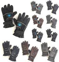 Men Winter Outdoor Sports Ski Thermal Insulation Waterproof Gloves Mittens MULTI