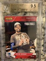 17-18 #26 Kevin Durant Panini Instant Finals MVP /5275 BGS 9.5 + Lot of 13