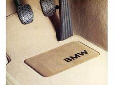 4 BMW OEM Beige Floor Mats E46 320 323 325 328 330 4221