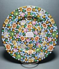 Vintage Japanese Millefleur Plate Thousand Flowers