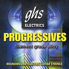 Ghs Prl Progressives Roundwound Electric Guitar Strings, Light (10-46)