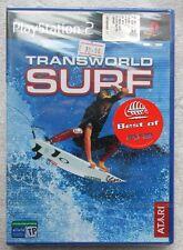 TRANSWORLD SURF PS2 PLAYSTATION 2 PAL ITA ESP VERSION NUOVO SIGILLATO