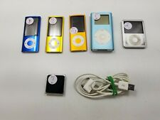 Lot of 6 Apple Assorted iPods -Je0957
