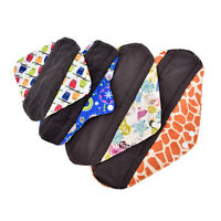 S/M/L/XL Small Panty Liners Charcoal Bamboo Reusable Cloth Mama Menstrual Pads Z