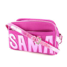 Samantha Thavasa Shoulder bag Logo Pink Purple Woman Authentic Used Y6350