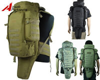 Tactical Molle Rifle Gun Carrying Case Shotgun Gear Bag Backpack Airsoft Hunting