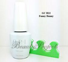 OPI GelColor Funny Bunny GC H22 Soak Off LED/UV 2017 New Bottle Gel .5oz +bonus