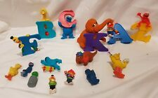 Sesame Street Vintage and Modern Mix of Figurines