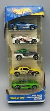 Hot Wheels Turbo Jet City 5 Car Gift Pack #54411 1:64 scale Diecast