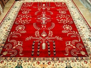 Red Royal Exclusive Hand Knotted Fine Carpet (9 x 12)'