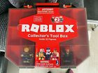 Roblox Collectors Tool Box Carry Case With 2 Figures Jazwares New But No Code