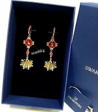 Swarovski Lucky Goddess Shell Pierced Earrings Gos Crystal Authentic 5451301