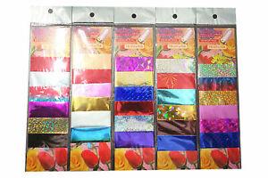 30x 10cm Transfer Folie Magic Nagelfolie Zauber Nailart Holographic Folie Set