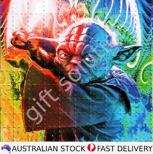 Yoda Psychadelic LSD Blotter Art 10 x 10