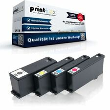 4x Recambio Cartuchos de tinta para Lexmark pro200series TI - Generación print